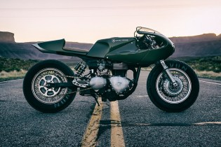 Icon 1000 Transforms a Triumph Thruxton Into the 'Three Martini Lunch' Bike