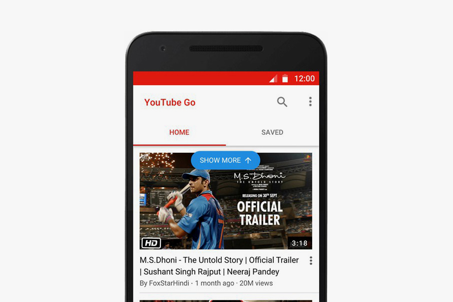 Launch of YouTube Go in India Aims to Benefit Users Living in Areas of Low Connectivity