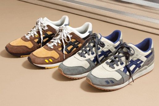 J.Crew Teams up With ASICS to Redesign the GEL-Lyte III