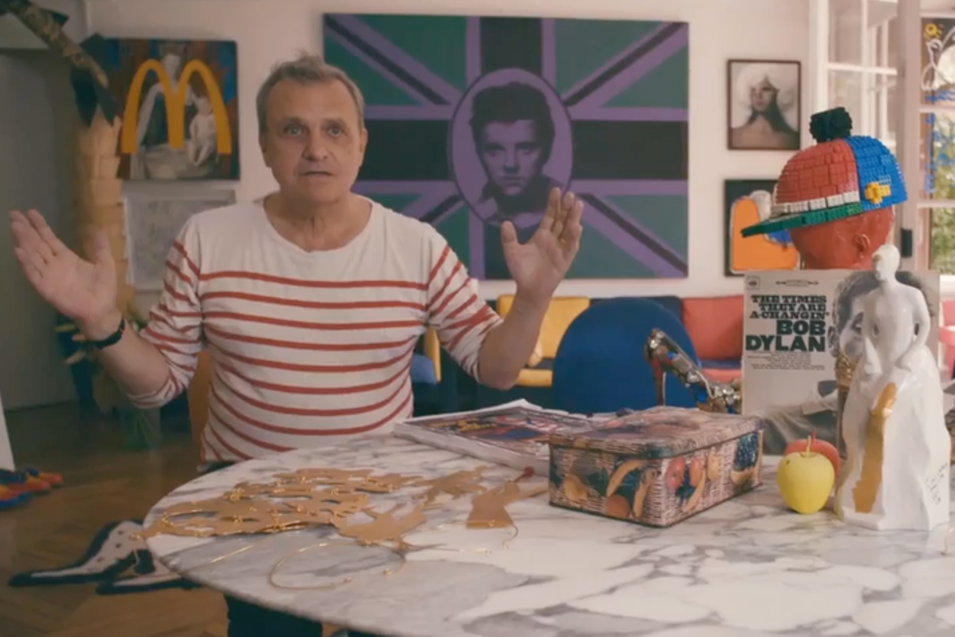 Take a Look Inside Jean-Charles De Castelbajac's Apartment