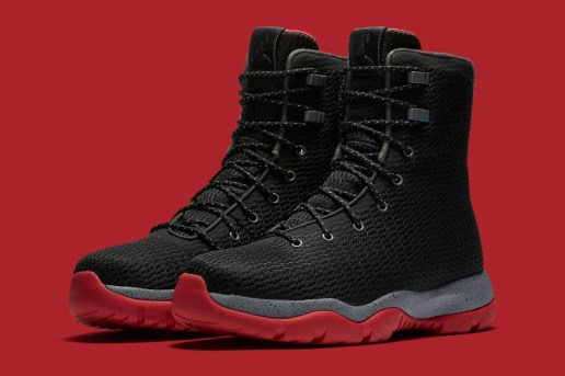 "The Jordan Future Boot Receives a ""Bred"" Colorway"