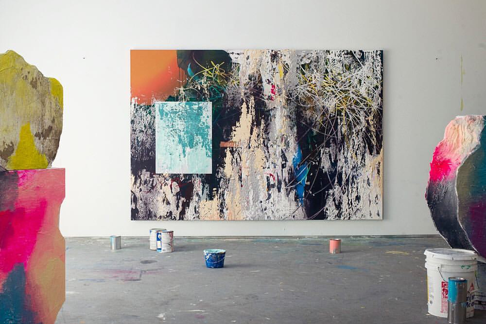 José Parlá to Open New Solo Show at The Goss-Michael Foundation