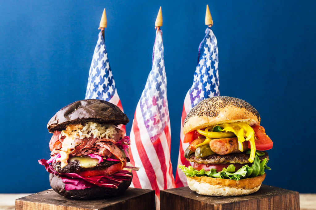 This Burger Cafe From Japan Is Holding a Special Presidential Burger Election