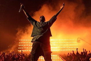 Kanye West Slays Tour Stage With Booze Slushies Backstage