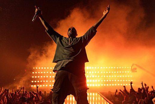 Kanye West Slays Tour Stage With Booze Slushies Backstage