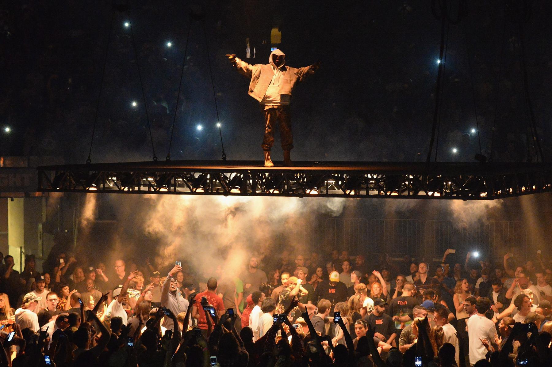 Kanye Turns to His 'Saint Pablo' Tour to Help Overcome the Criticism Surrounding YEEZY Season 4
