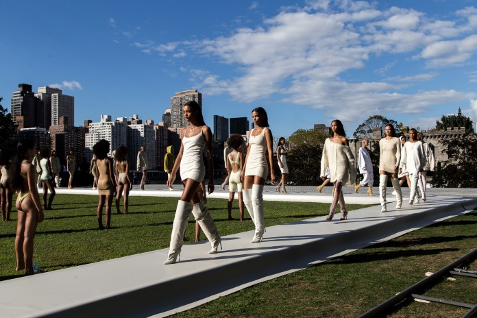Kanye West's YEEZY Season 4 Brought Sunshine to an Urban Dystopia