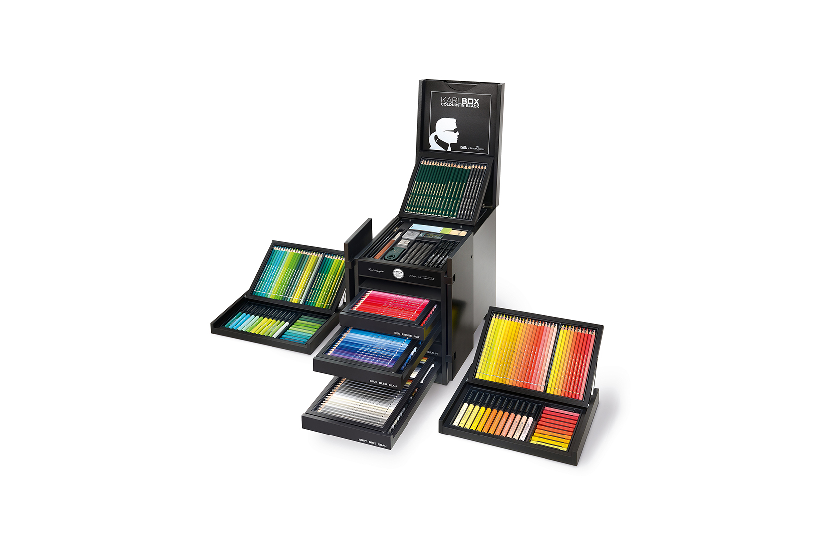The Karlbox Is Karl Lagerfeld's $2,850 USD Chinese Wedding Chest of Crayons