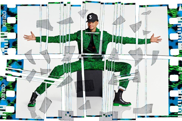 Chance the Rapper Poses for Upcoming KENZO x H&M Collaboration