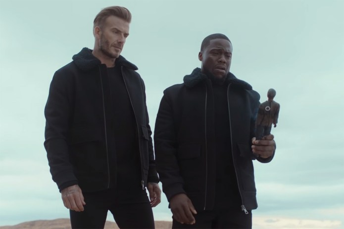 Kevin Hart & David Beckham Take a Road Trip to Las Vegas in Latest H&M Spot