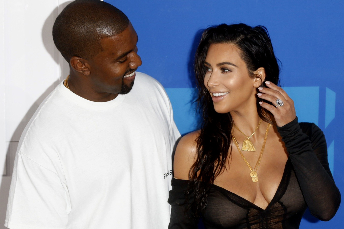 That Big Diamond Ring Kanye West Gave to Kim Kardashian Is a Funny Story