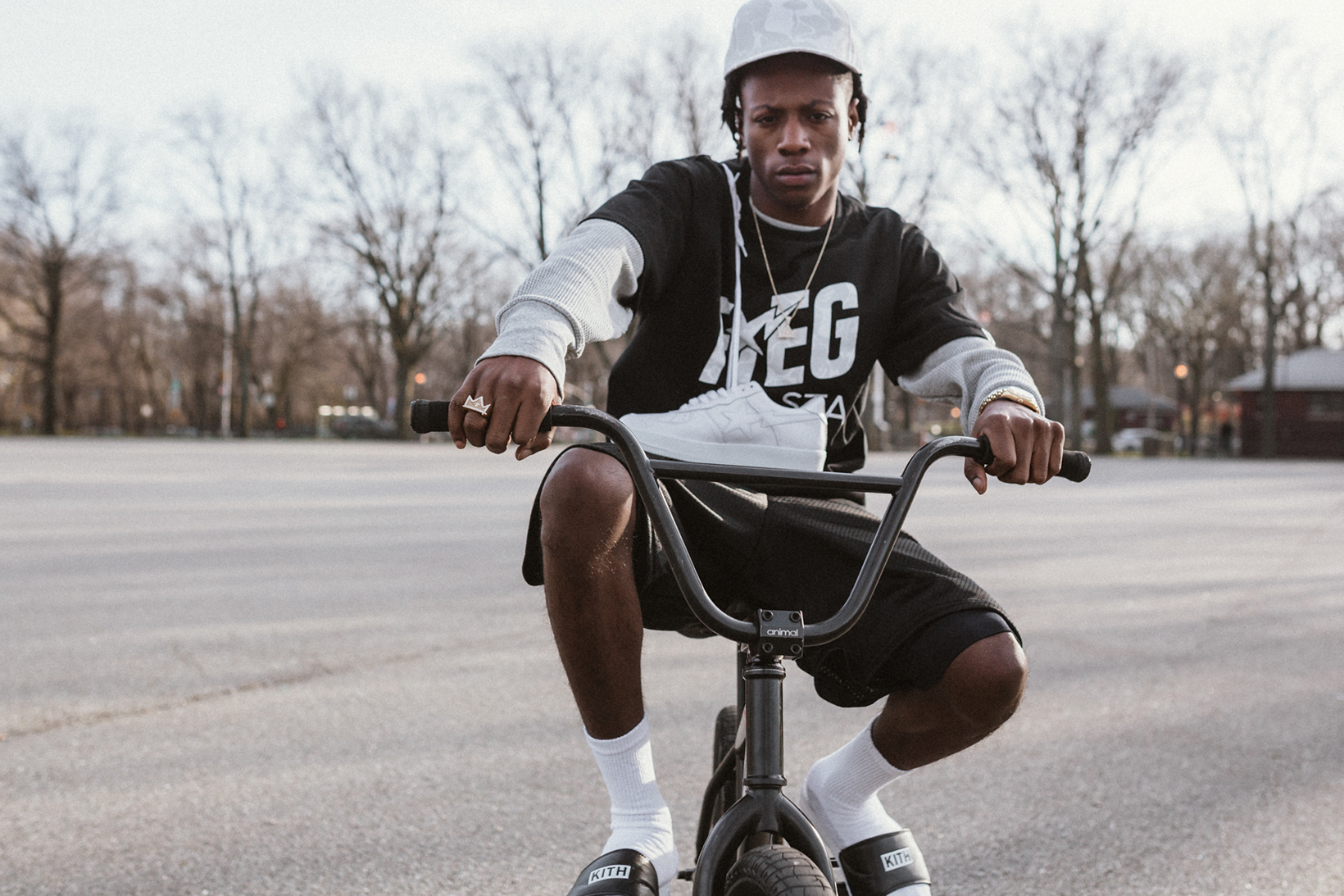 Ronnie Fieg Bape Lookbook