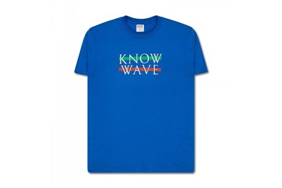 KNOW WAVE Releases T-Shirts to Celebrate SLAM JAM Milan Opening