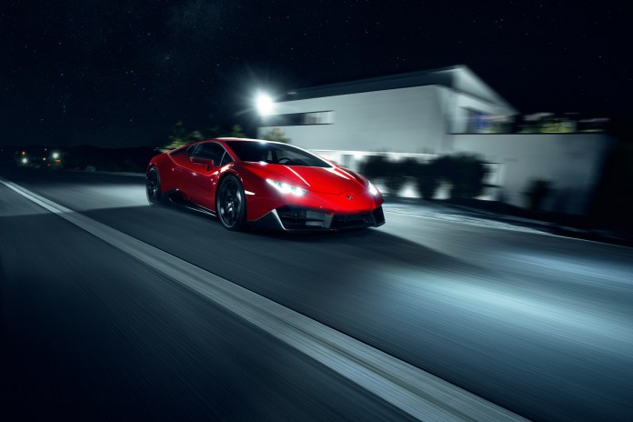 The Lamborghini Huracán Gets a Track-Ready Body Upgrade and High-Tech Tune