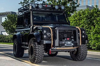 Land Rover Defender 'SPECTRE EDITION' Inspired From the Famous Bond Film