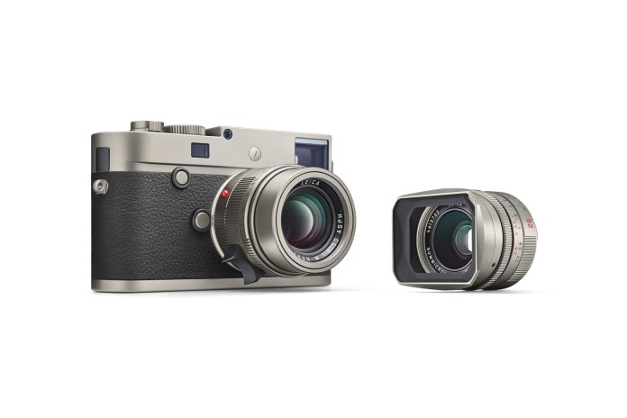 Leica Officially Unveils Its M-P Typ 240 Titanium Set