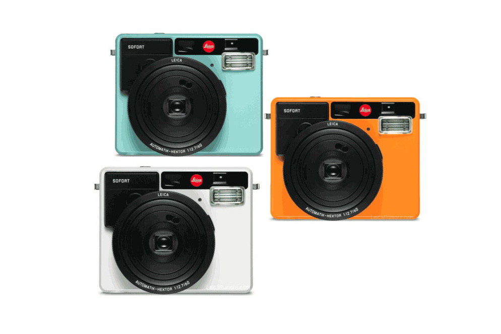"""Leica Is Coming out With an Instant Camera Called the """"Sofort"""""""