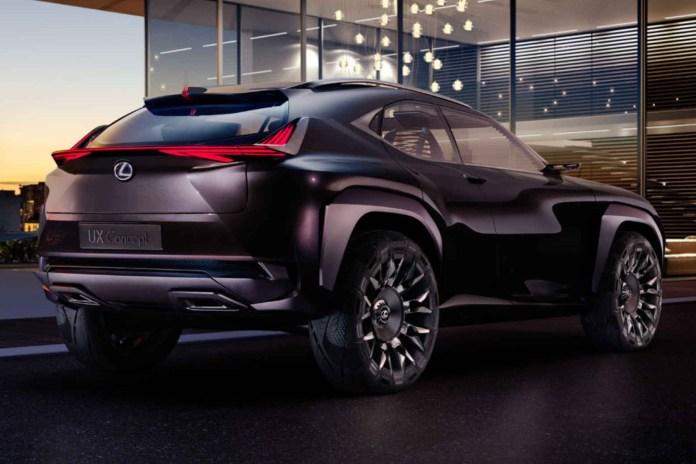 The Lexus UX Concept Is Set for Its Paris Debut