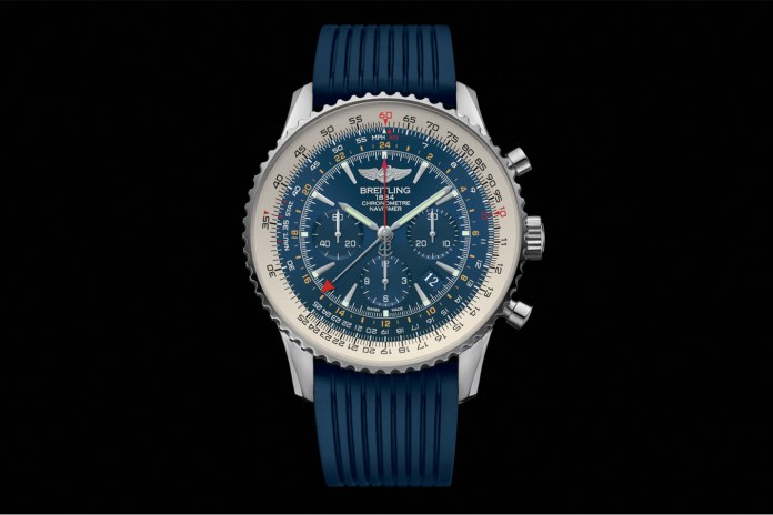 Introducing the Limited Edition Breitling Navitimer GMT Aurora Blue