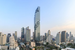 The MahaNakhon Skyscraper Debuts as Thailand's Tallest Building