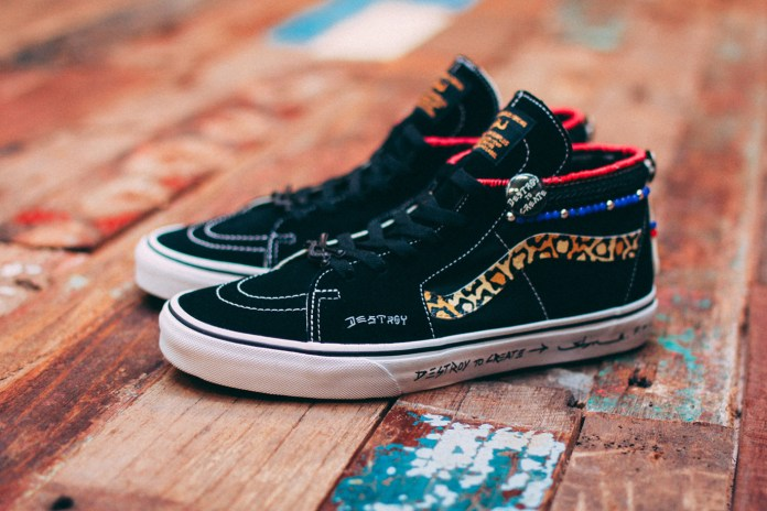 SBTG Customizes the Sk8-Hi for House of Vans Singapore