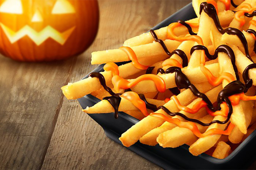 Chocolate Pumpkin Fries Are Coming to McDonald's Locations in Japan