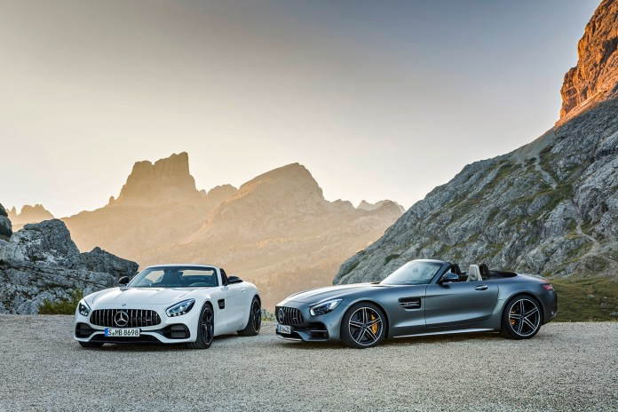 Mercedes-AMG Reveals Its New GT Roadsters