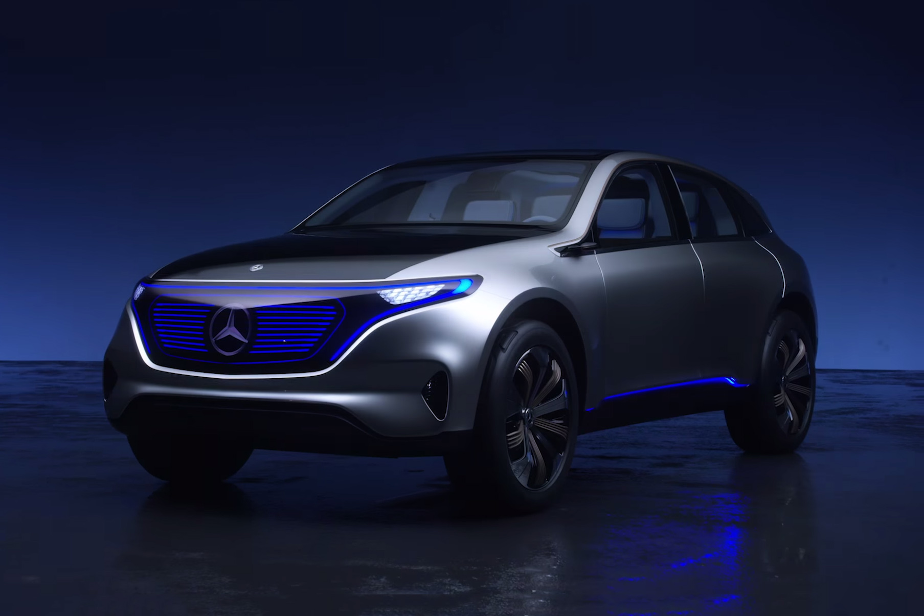 Mercedes Ushers in Generation EQ With Latest Electric SUV