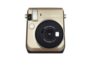 Michael Kors Teams up With Fujifilm on a Gilded Instax Mini 70