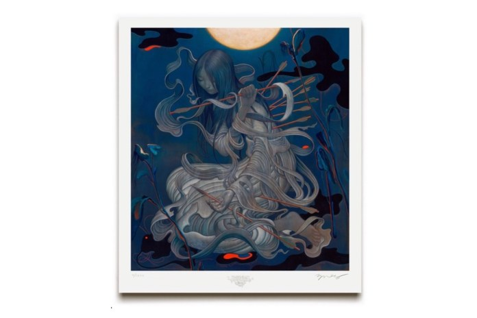 "James Jean Exhibits New Print ""Chang'e"" for Limited Time"