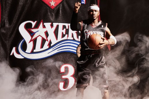 Mitchell & Ness and ENTERBAY Honor Allen Iverson With Special Collector's Boxset