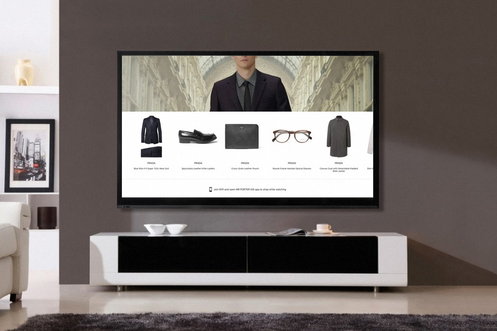 MR PORTER Is Launching a Home Shopping App for Apple TV