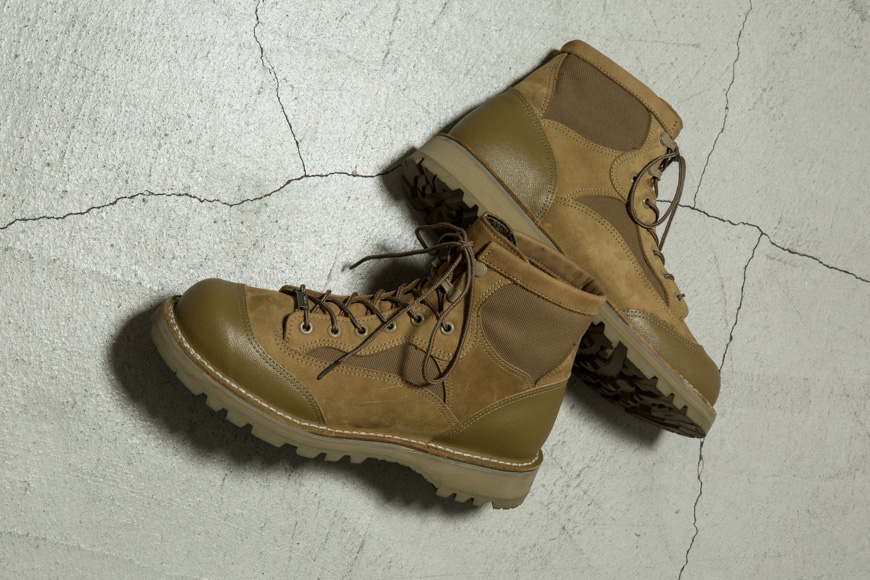 N.HOOLYWOOD x Danner USMC RAT Military-Inspired Boot