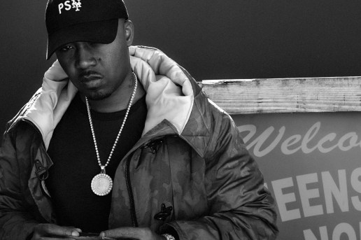 New York Legend Nas Models Public School's Latest New Era Collaboration