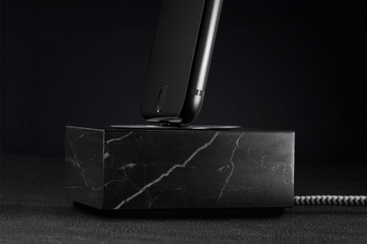 Native Union Releases a Solid Marble Charging Dock for Apple Lightning Devices