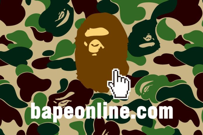 BAPE Set to Launch New International Online Store This Month