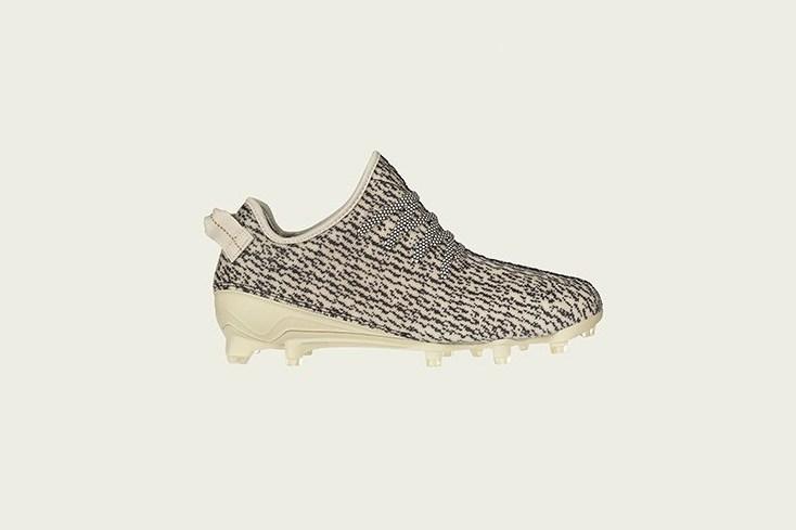 Kanye west yeezy adidas cleats turtle dove