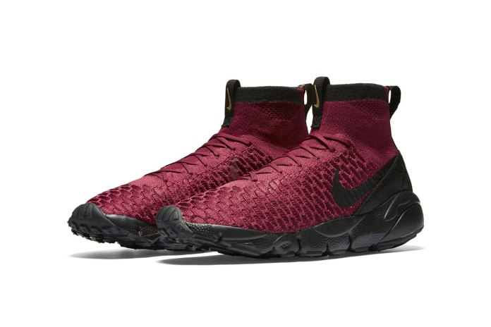 "Nike Wraps the Air Footscape Magista FC in ""Deep Burgundy"""