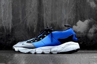 "The Nike Air Footscape NM Returns in a Bold ""Hyper Cobalt"" Hue"