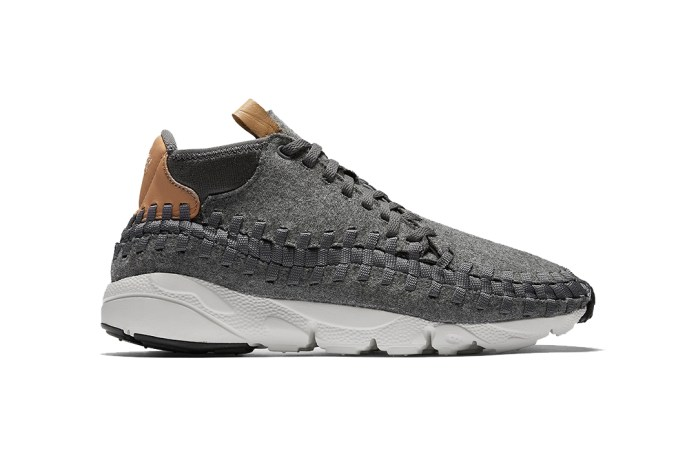 Nike Adds Grey Wool to Its Air Footscape Woven Chukka SE Releases
