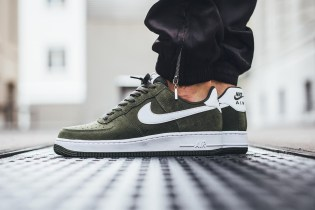 "The Nike Air Force 1 Low Returns in a Fall-Ready ""Cargo Khaki"""