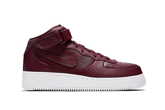 Nike's Air Force 1 Mid Continues Its Premium Upgrades via NikeLab