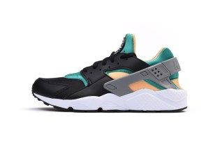 "Nike Puts a New Spin on the OG ""Emerald"" Colorway of the Air Huarache"