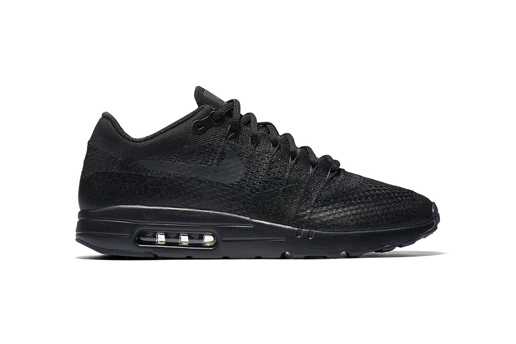 "Nike's ""Triple Black"" Colorway of the Air Max 1 Ultra Flyknit Drops Next Month"