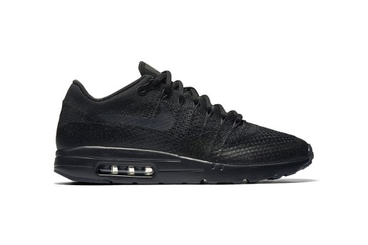 """Nike's """"Triple Black"""" Colorway of the Air Max 1 Ultra Flyknit Drops Next Month"""