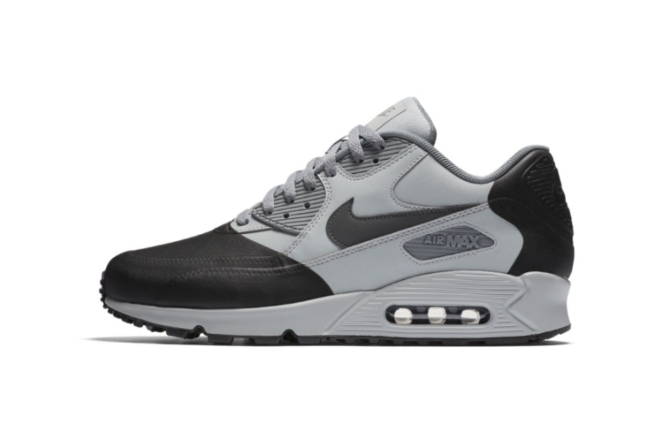 nike air max 90 premium se wolf grey anthracite hypebeast. Black Bedroom Furniture Sets. Home Design Ideas