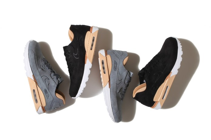 The Classic Nike Air Max 90 Gets a Luxurious Suede Makeover