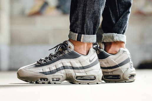 "Nike Gives the Air Max 95 a Smooth ""Light Taupe"" Treatment"
