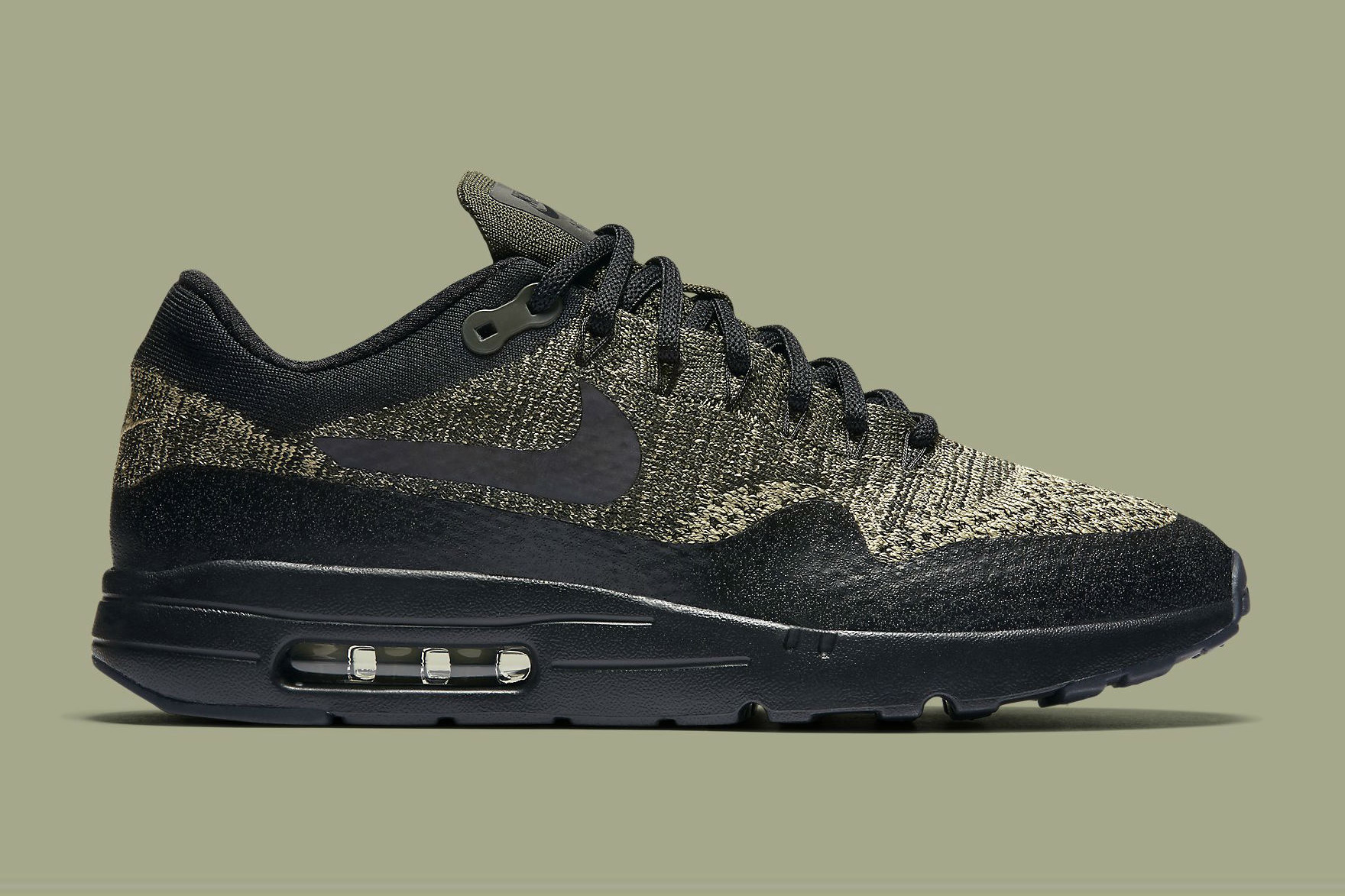 The Nike Air Max 1 Ultra Flyknit Gets the Olive Treatment
