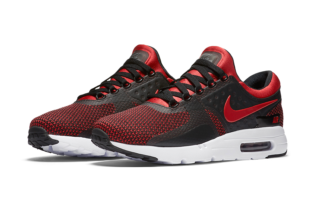 "The Nike Air Max Zero Gets a ""Bred"" Colorway"